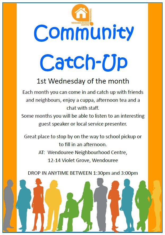 Community CatchUp Flyer